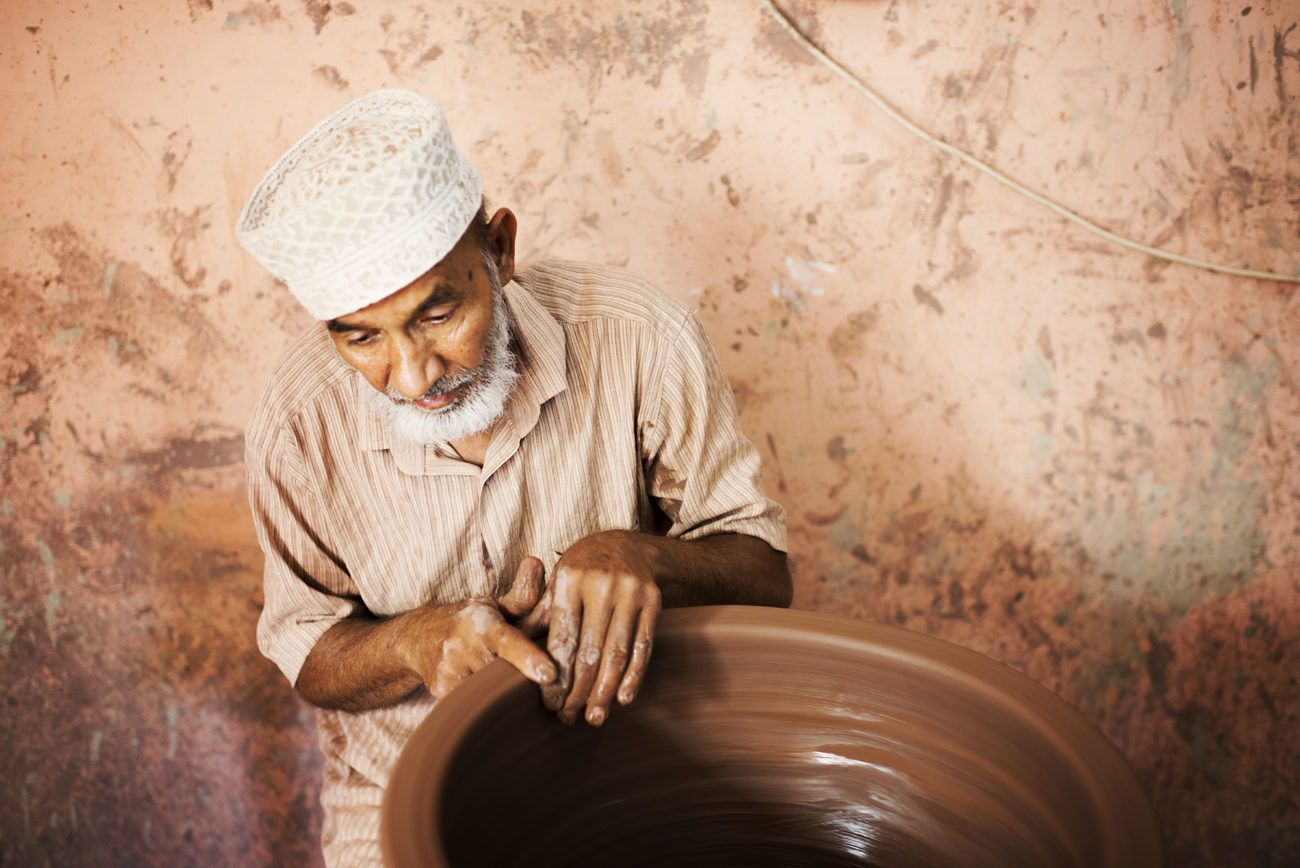 Lauren Bath - The Clay Man Portrait, Oman