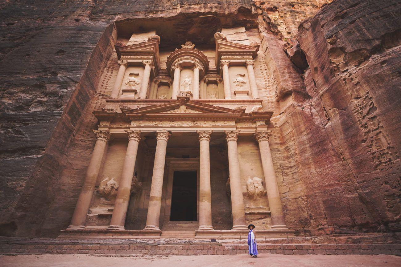 Lauren Bath - Petra Wanderings Travel Photography. The Treasury Jordan