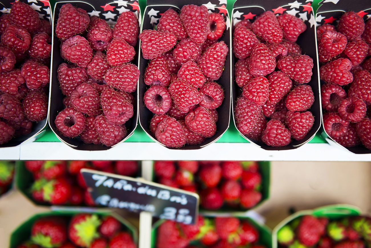 Lauren Bath - Punnets of berries in Paris France