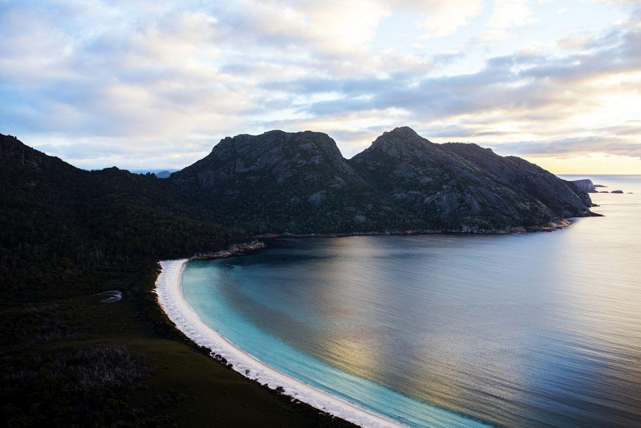 Lauren Bath - Wineglass Bay Travel Photography. Freycinet National Park Tasmania, Australia