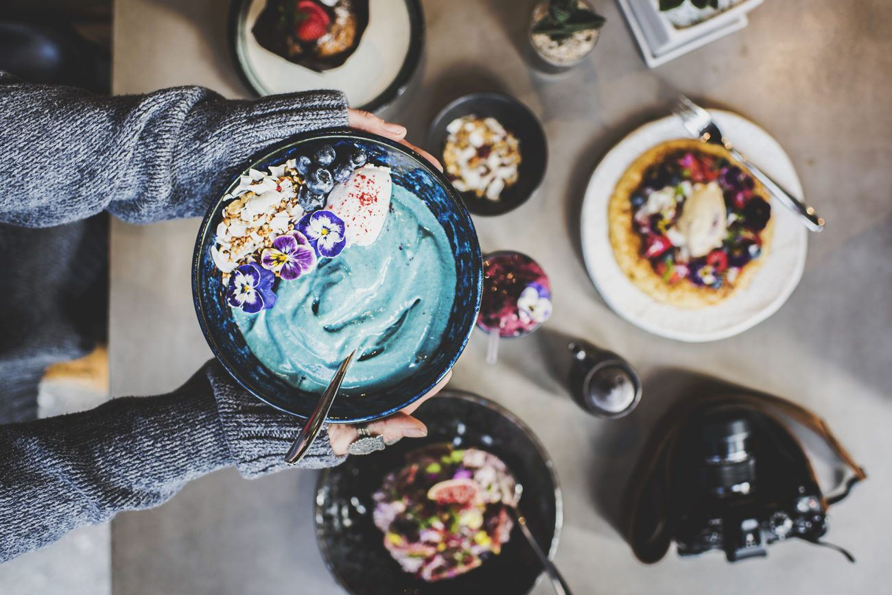 Lauren Bath - Breakfast Smoothie Bowl at Chippendale Sydney. New South Wales, Australia