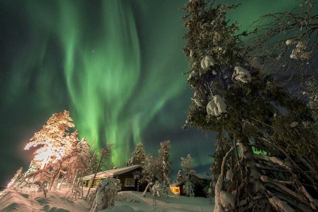 Lauren Bath - The Aurora Travel Photography Northern Lights. Inari Saariselka, Finland Lapland