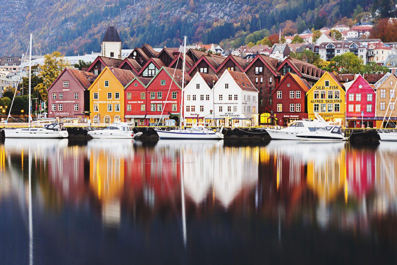 Lauren Bath - City Reflections Travel Photography Bergen, Norway