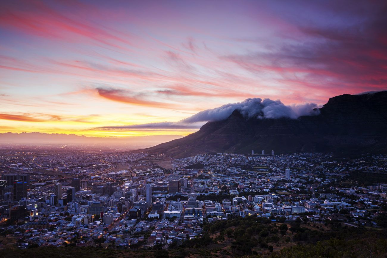 Lauren Bath - Cape Town Dawn Travel Photography South Africa