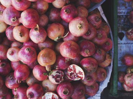 Pile Of Pomegranates