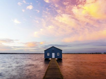 Pink Boathouse